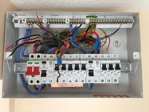 consumer unit upgrades rh njcelectricalservices co uk distribution board wiring diagram distribution board wiring south africa